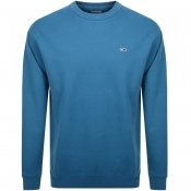 Product Image for Tommy Jeans Washed Sweatshirt Blue
