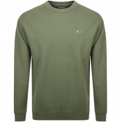 Tommy Jeans Washed Sweatshirt Green