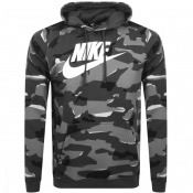 Product Image for Nike Club Camouflage Hoodie Grey