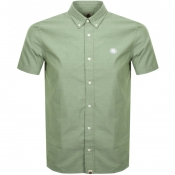 Product Image for Pretty Green Short Sleeve Oxford Shirt Khaki