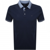 Michael Kors Greenwich Polo T Shirt Navy