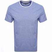 Product Image for Michael Kors Birdseye Tipped T Shirt Blue