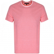 Product Image for Michael Kors Birdseye Tipped T Shirt Pink