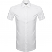 Product Image for BOSS HUGO BOSS Short Sleeved Jats Shirt White