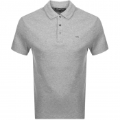 Product Image for Michael Kors Sleek Polo T Shirt Grey