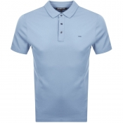 Product Image for Michael Kors Sleek Polo T Shirt Blue