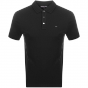 Product Image for Michael Kors Sleek Polo T Shirt Black