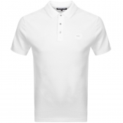 Michael Kors Sleek Polo T Shirt White