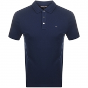 Product Image for Michael Kors Sleek Polo T Shirt Navy