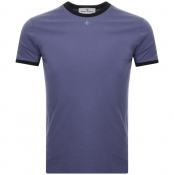 Product Image for Vivienne Westwood Small Orb Ringer T Shirt Purple