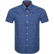 Luke 1977 Short Sleeved Casa Moda Shirt Navy