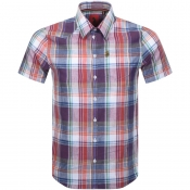 Product Image for Luke 1977 Short Sleeved Casa Moda Shirt Red