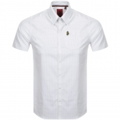 Luke 1977 Short Sleeved Casa Moda Shirt White