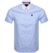 Product Image for Luke 1977 Short Sleeved Fashion House Shirt Blue