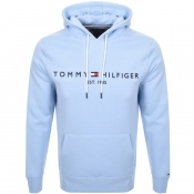 Product Image for Tommy Hilfiger Logo Hoodie Blue