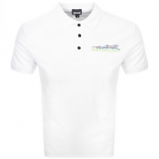 Product Image for Just Cavalli Short Sleeved Polo T Shirt White