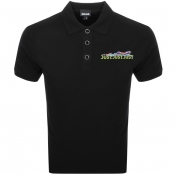 Product Image for Just Cavalli Short Sleeved Polo T Shirt Black