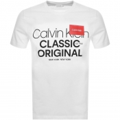 Product Image for Calvin Klein Relaxed Logo T Shirt White