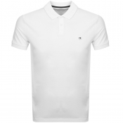 Product Image for Calvin Klein Jeans Logo Badge Polo T Shirt White