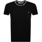 Product Image for Calvin Klein Jeans Crew Neck Logo T Shirt Black