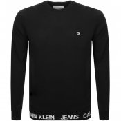 Product Image for Calvin Klein Jeans Institutional Sweatshirt Black