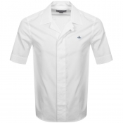 Product Image for Vivienne Westwood Poplin Short Sleeve Shirt White