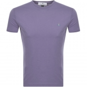 Vivienne Westwood Small Orb Logo T Shirt Purple
