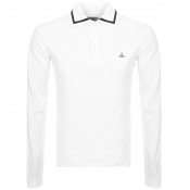 Product Image for Vivienne Westwood Long Sleeve Polo T Shirt White
