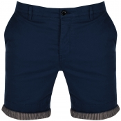 Pretty Green Mens City Shorts Navy