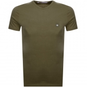 Product Image for Calvin Klein Jeans Small Logo T Shirt Green