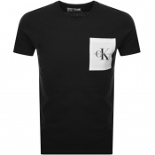 Product Image for Calvin Klein Jeans Monogram Pocket T Shirt Black