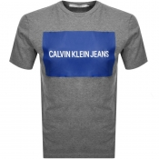 Product Image for Calvin Klein Jeans Logo T Shirt Grey