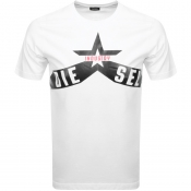 Product Image for Diesel T Diego A7 T Shirt White
