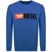 Product Image for Diesel Division Sweatshirt Blue