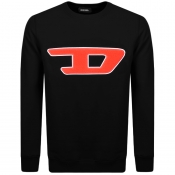 Product Image for Diesel Division D Logo Sweatshirt Black