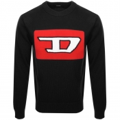 Diesel K LogoX Knit Jumper Black