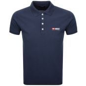 Product Image for Diesel T Weet Polo T Shirt Navy