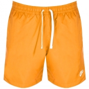 Product Image for Nike Flow Logo Swim Shorts Orange