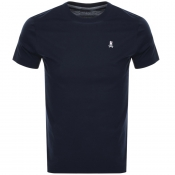 Product Image for Psycho Bunny Classic Crew Neck T Shirt Navy