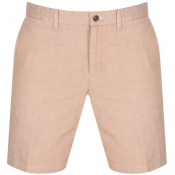 Gant Chambray Shorts Brown