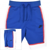 Product Image for Nike Logo Mesh Shorts Blue