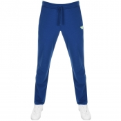 Product Image for Emporio Armani Blue Terry Jogging Bottoms Blue