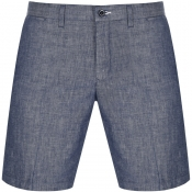 Gant Chambray Shorts Navy