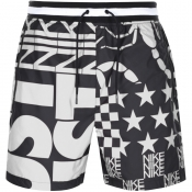 Nike Allover Print Logo Shorts Black