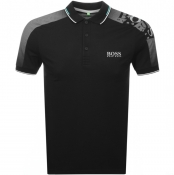 BOSS Athleisure Paule Pro Polo T Shirt Black