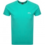 BOSS Athleisure Tee T Shirt Green