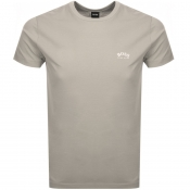 BOSS Athleisure Tee T Shirt Beige