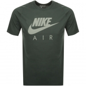 Nike Air Logo T Shirt Green