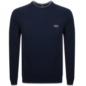 BOSS Athleisure Rimex Knitted Jumper Navy