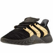 Adidas Sobakov Boost Trainers Black